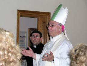 Photo: Señor Obispo en la renovación del matrimonio en Caná de Galilea