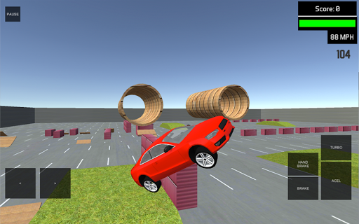 Real Stunt Car Drive Simulator