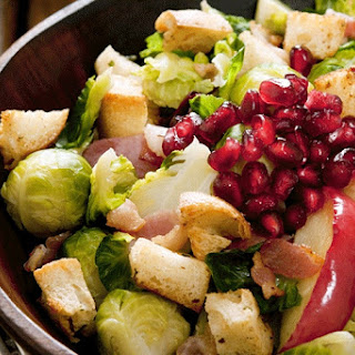 The 28-Day Shrink Your Stomach Challenge Shredded Brussels Sprouts and Apple Salad