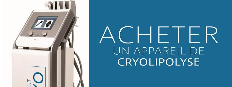 acheter un appareil de cryolipolyse par plaques