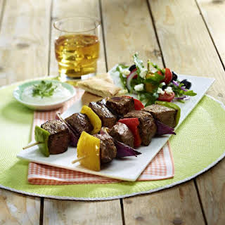 Beef and Pepper Kebabs.