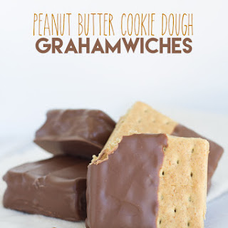 Peanut Butter Cookie Dough Grahamwiches