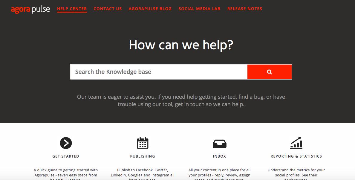 Agorapulse help center