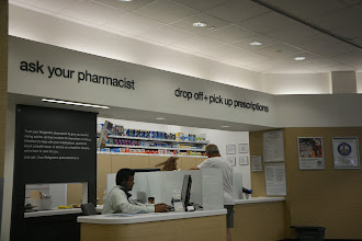 Photo: Having a pharmacist right there on call to answer any questions you have, or to take your blog pressure, was great!