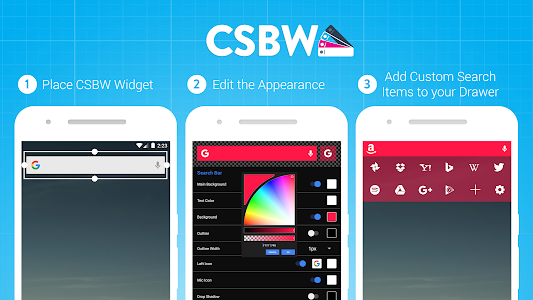 Custom Search Bar Widget CSBW screenshot 8