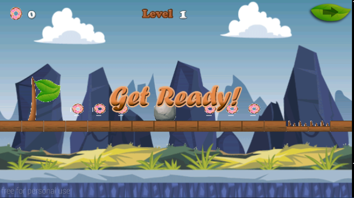 android Big Hungry Boy Jump Screenshot 2