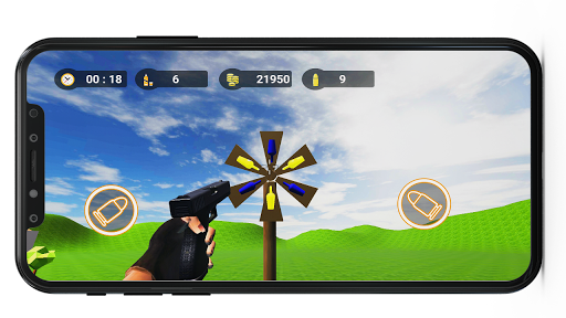 Télécharger Bottle Shooter 3D Expert : Best Shooter Game mod apk screenshots 2