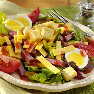 Gouda & Black Forest Ham Chef's Salad.
