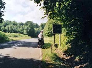 Photo: Grænsen til Frankrig.