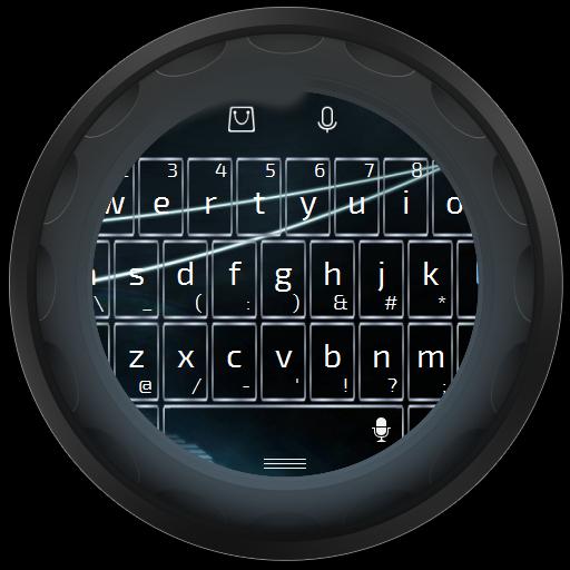白色電線 TouchPal 主題 LOGO-APP點子