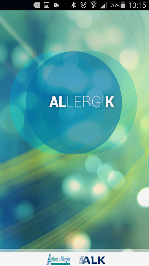 AllergiK – Capture d'écran