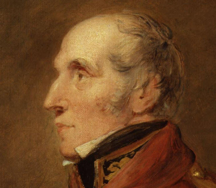 Photo: Sir John William Waters, by William Salter.oil on canvas, 1834-184021 in. x 17 in. (535 mm x 430 mm)Bequeathed by W.D. Mackenzie, 1950NPG 3765© National Portrait Gallery, LondonStudies for 'The Waterloo Banquet at Apsley House, 1836': paintings by William Salter, 1834-41