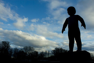 Photo: Day 206 / May 5, 2012 A Child in Vigeland Park in Oslo, Norway  ヴィーゲラン公園 子どもの彫刻 #creative366project
