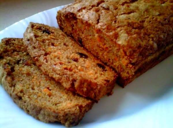 Carrot Prune Bread Recipe