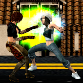 Girls Wrestling Revolution 3D : Stars Women Fight