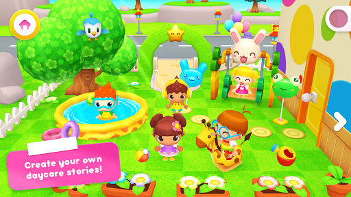 Happy Daycare Stories - School playhouse baby care 1.2.4 screenshots 1