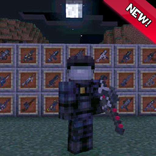 mods black ops weapon for mcpe