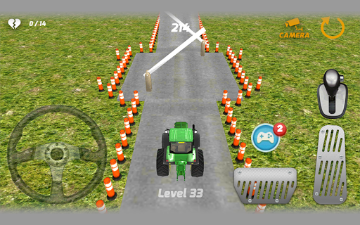 拖拉机停车3D