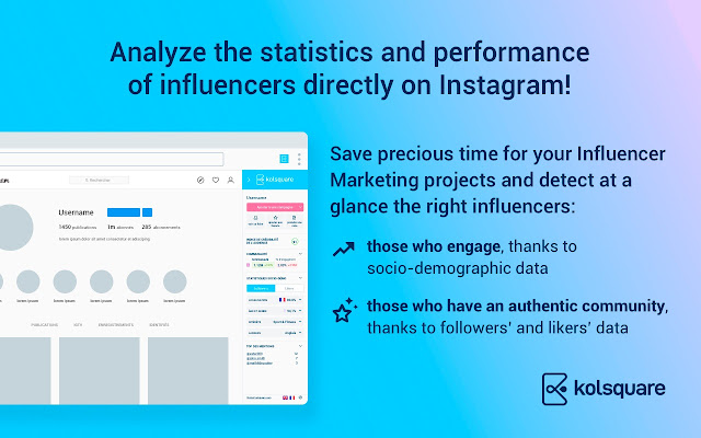 Kolsquare Analytics Sidebar