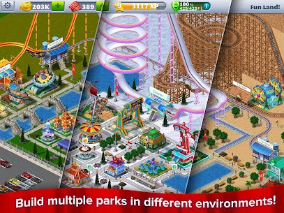 RollerCoaster Tycoon® 4 Mobile MOD APK (Unlimited Money) 5