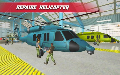 US Army Helicopter Mechanic - náhled