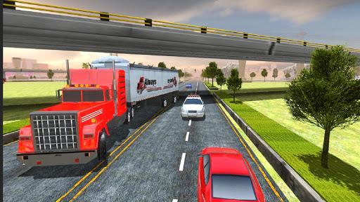 Highway Cargo Truck Transport Simulator screenshot 9
