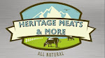 Logo for Heritage Meats and More