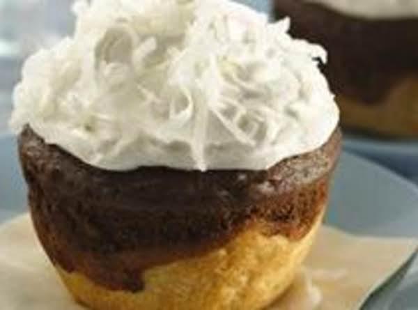 Pie Cupcakes`~jumbo Chocolate-coconut