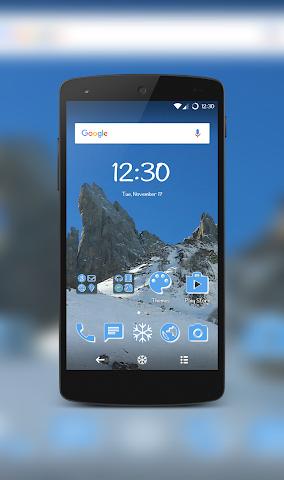 android IcyPeak CM12.1 Theme Screenshot 0
