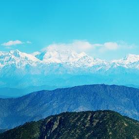 try conquering me  by Usman Irani - Landscapes Mountains & Hills ( mountain, himalaya, beautiful, morning, breathtaking, nainital, panoramic, peaks,  )
