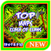 Tải Game TOP Maps Clash of Clans 2017