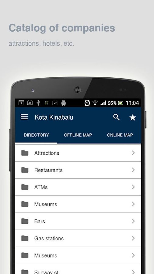 Kota Kinabalu Map offline- screenshot