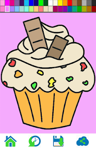 Cupcake Coloring Books - náhled