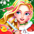 Christmas Hair Salon icon