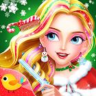 Salón de belleza para la Navidad icon