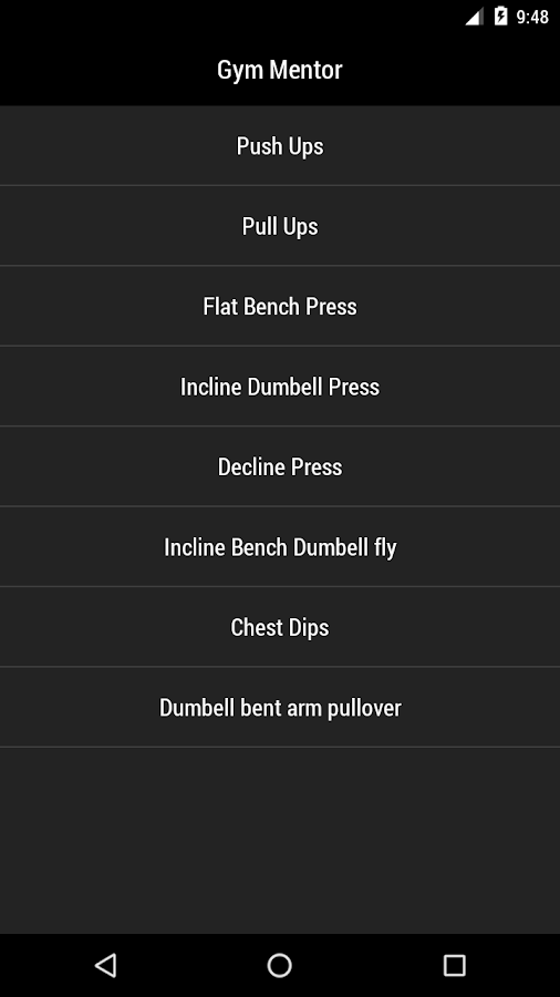 Gym Mentor Pro- screenshot