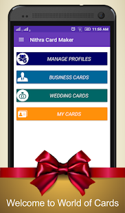Card maker business wedding android apps on google play card maker business wedding screenshot thumbnail reheart Choice Image