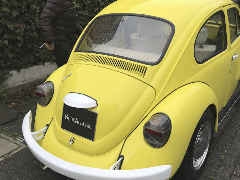 Volkswagen Maggiolino Hire Roma