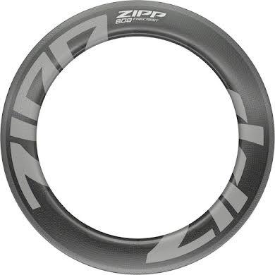 Zipp 808 Firecrest Carbon Rim - 700, Rim Brake, Matte Carbon, 18H, Front