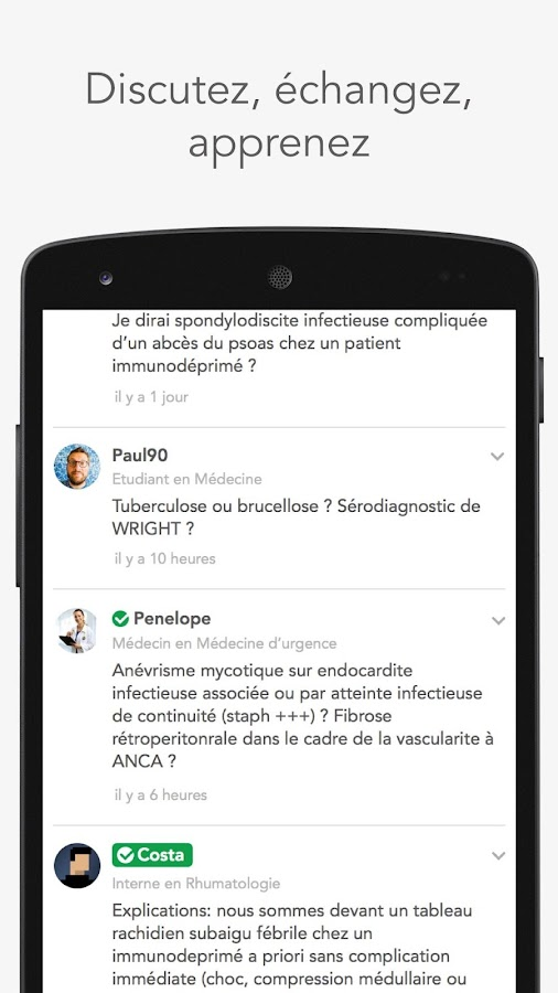 MedPics - Cas cliniques collaboratifs- screenshot