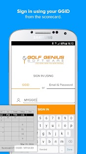 Golf Genius- screenshot thumbnail