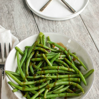 Green Beans With Balsamic Vinegar Sauce Recipes