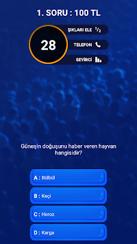 Who wants to be a millionaire apk screenshot