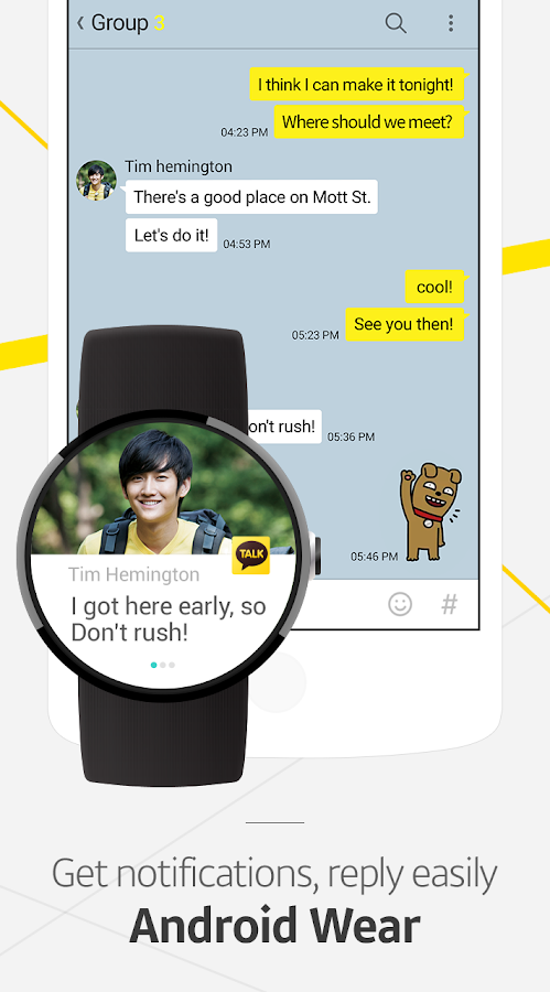 Screenshots of KakaoTalk: Free Calls & Text for Android
