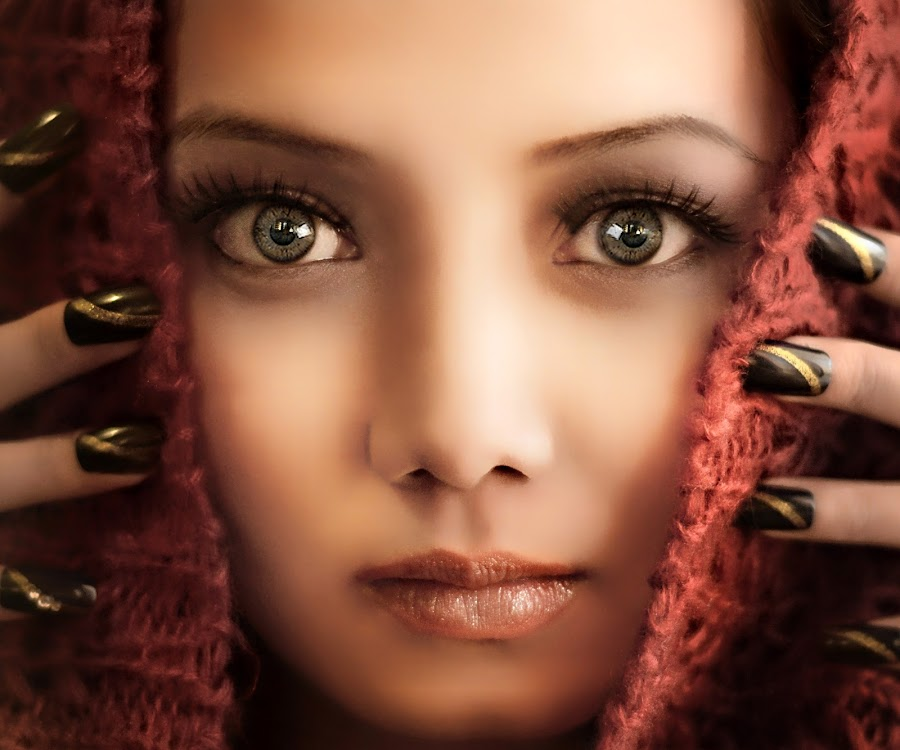 DIANA III by PATT LULUQUISIN - People Portraits of Women ( girl, beautiful, hot, nails, eyes )