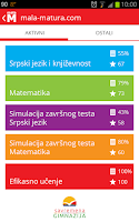 Screenshot of Mala-matura.com
