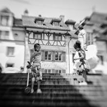 Photo: 6 steps to the goal  #gplusanniversary  #GPlusAnniversaryLuzern  #luzern06302012  #street #streettogs #streetphotography #shootthestreet #blackandwhite #bw #monochrome  #lensbabythursday curated by +Gloria Roldan