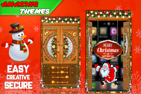 Christmas Door Lock Live - Awesome Multi Screen - náhled