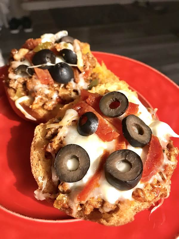 Italian Pizza Burgers Recipe