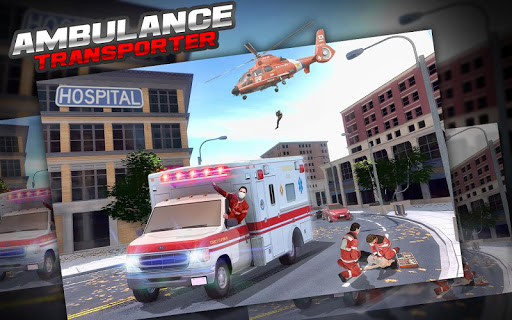Ambulance on run:Transporter